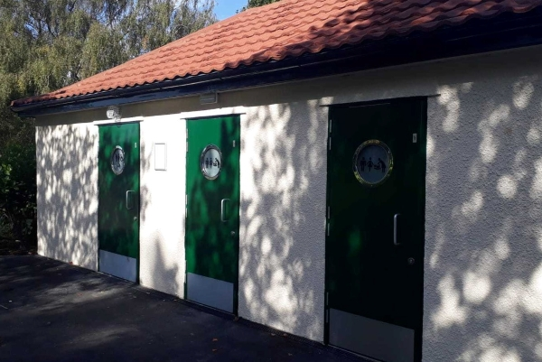 New loos in St George Park open to the public