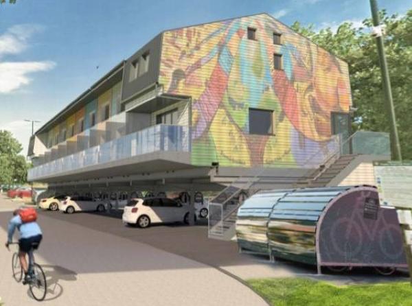 Car park housing project wins award