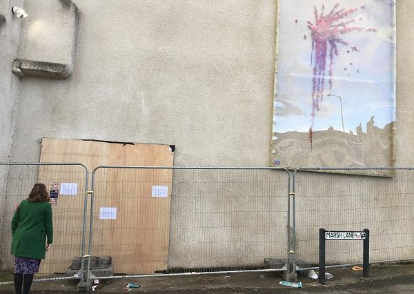 Barton Hill Banksy 'will be restored' after vandal attack