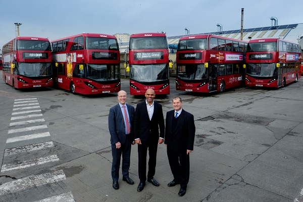 Gas-powered buses roll on to the streets