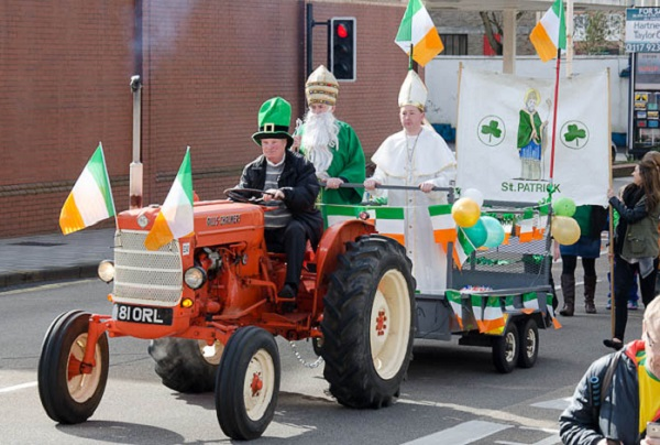 St Patrick's Day Parade moves away from St George