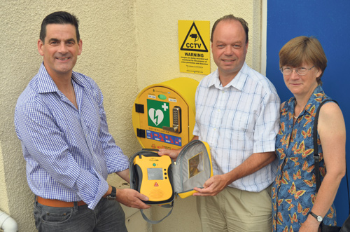 Heartfelt plea for lifesaving equipment
