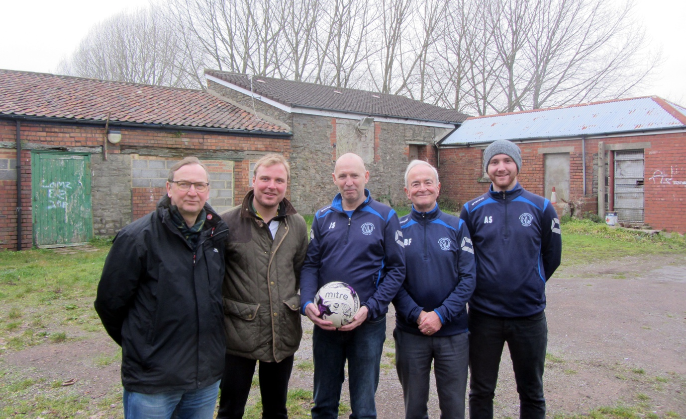 New supporters for Dundridge Park Footballers