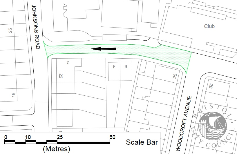 New one way restriction and parking restrictions
