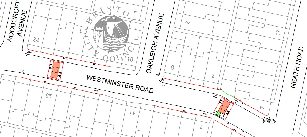 proposed road humps Westminster Road