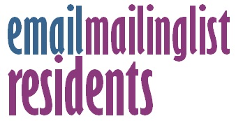 email mailing list - residents
