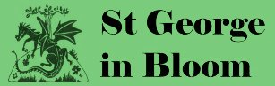 St George in Bloom logo